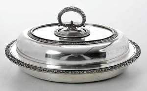 Tiffany Sterling Entree Dish