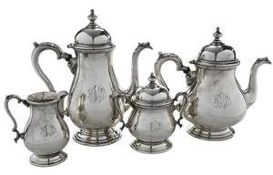 Four Piece International Sterling Tea Service
