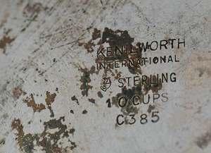 Four Piece International Sterling Tea Service