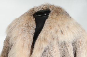Full Length Canadian Lynx Fur Coat