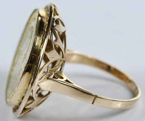 14kt. Coin Ring