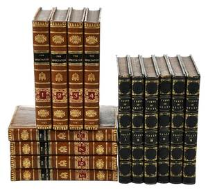 Two Leatherbound Sets of Books