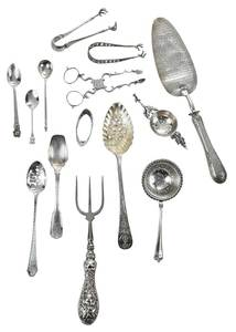 31 Pieces Assorted Silver Flatware