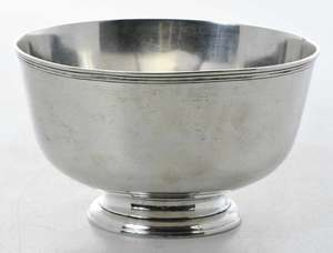 Tiffany Sterling Footed Bowl