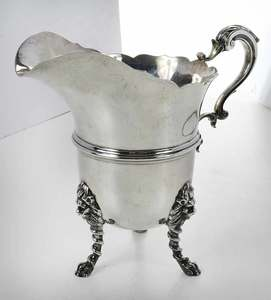 Scottish Silver Water Pitcher
