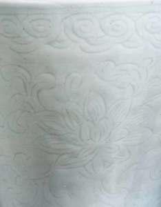 Chinese White Glazed 18th Century Vase