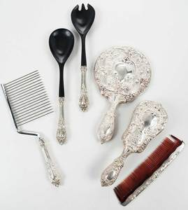 Sterling Flatware/Dresser Items