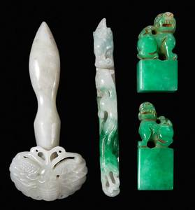 Assorted Jade/Hardstone Carvings