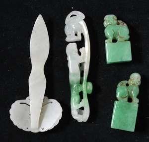 Assorted Jade/Hardstone Carvings
