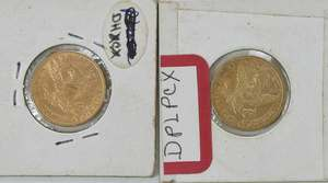 11 United States $5 Gold Coins