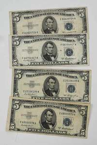 Approximately 380 United States Blue Notes