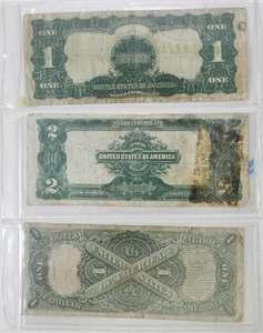 Four United States Oversized Notes