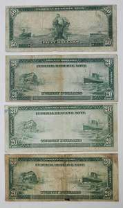 Four U.S. Notes, Cleveland & Grant