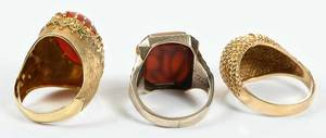 Three Gold Rings* (Coral)