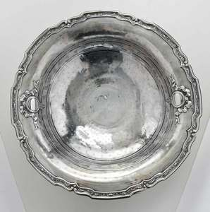 French Silver Bowl