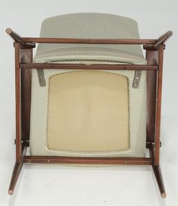 Modern Rosewood Spade Armchair by Finn Juhl