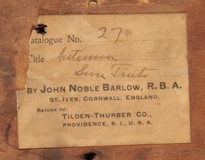 John Noble Barlow