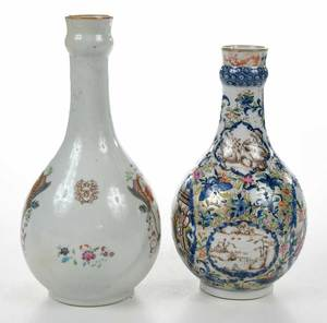 Two Chinese Export Guglets