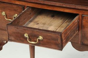 A George II Mahogany Dressing Table