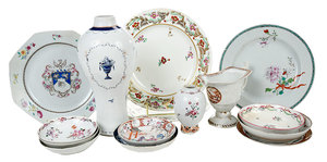 15 Pieces Chinese Export Porcelain
