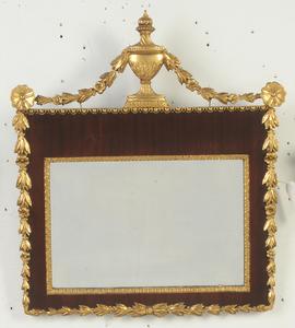 Three Adam Style Bronze Wall Mirrors