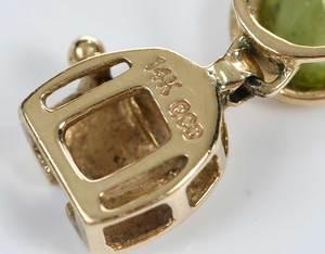 Two 14kt. Gemstone Bracelets