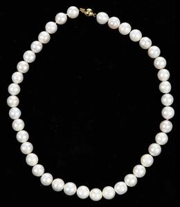 18kt. Pearl Necklace