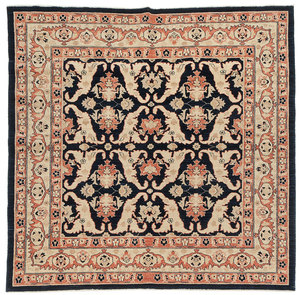 Nearly Square Pakistani Rug