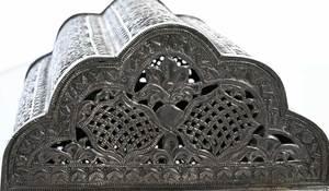 Middle Eastern Silver Casket
