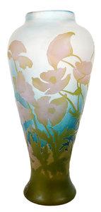 Emille Gallé Cameo Glass Vase