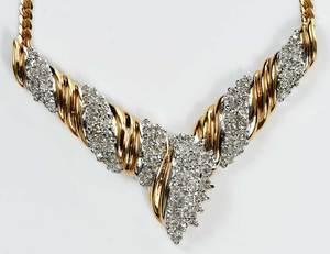 18kt. Diamond Necklace