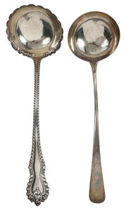 English Silver and Sterling Ladles