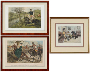 Three British Prints/Sporting