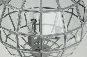 Beveled Glass Hall Fixture