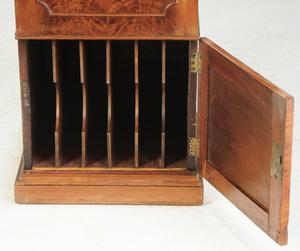 Regency Figured Mahogany Music Cabinet