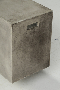 Contemporary Polished Concrete Coffee Table