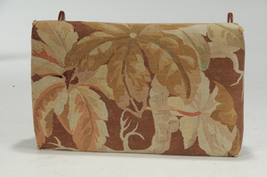 Regency Style Faux Painted and Tapestry Bench