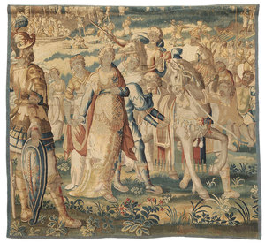 Aubusson Historical Tapestry