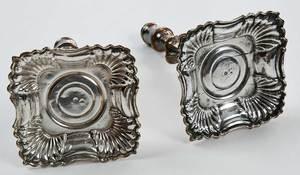 Ten Silver-Plate Candlesticks