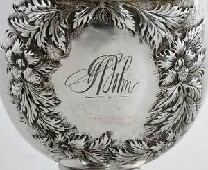 Four Kirk Coin Silver Items