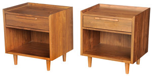 Pair Mid Century Style End Tables