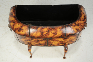 Regency Style Faux Painted Tole Planter