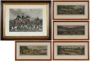 Five British Sporting Engravings