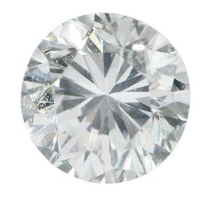 0.69ct. Round Brilliant Diamond