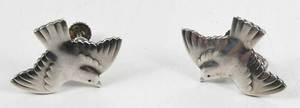 Georg Jensen Bracelet and bird earrings