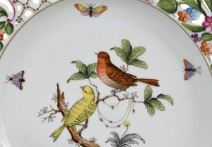 Herend Rothchild Bird Service, Approx. 79 Pieces