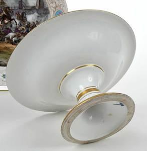 Five Pieces Continental Porcelain, Meissen, KPM