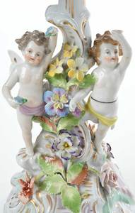 Seven Pieces British and Continental Porcelain