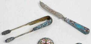 11 Russian Silver Spoons