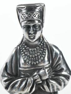 Russian Silver Figure